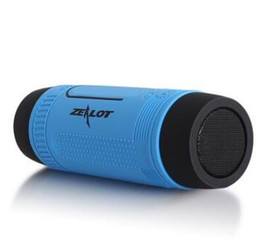 Wholesale S1 Flashlight - New Portable Wireless Waterproof Bluetooth Speaker with Power bank And Flashlight Multifunctional Sport Speaker Zealot S1 VS Pulse Speaker