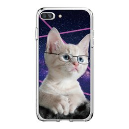 Wholesale puppy iphone case - For iPhone X 8 7 8PLUS 7PLUS Phone Pet Cats and Puppies Mode Soft Silicon Mobile Phone Bag