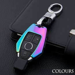 En alliage de zinc porte-clés porte-cas porte-couverture pour Mercedes Benz W203 W210 W211 W124 W202 W204 AMG CLK C180 E200 C Classe E S ? partir de fabricateur