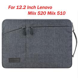 планшетный пк водонепроницаемый чехол Скидка Ручной держатель дизайн ноутбук рукав сумка для 12.2 дюймов Lenovo Miix 520 Miix 5 Plus / 510 мода Tablet PC Case водонепроницаемый чехол подарок