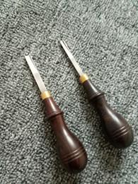 Attrezzi artigianali artigianali in pelle fai da te stile francese edger largo skiving ferro da