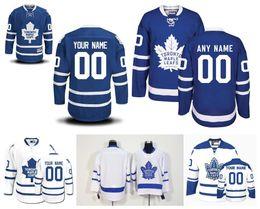Wholesale Ice Hockey Logo - Customized Men's Toronto Maple Leafs Jerseys Custom Stitched Any Name Any Number Ice Hockey Jersey, Authentic Jerseys Embroidery Logos