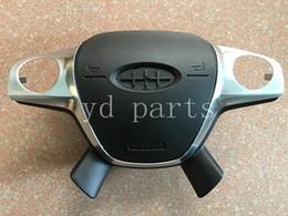 2019 volante di messa a fuoco Volante Coperchio airbag SRS per Ford Focus 2 2012 Airbag Cover Driver Nuova copertura airbag Spedizione gratuita volante di messa a fuoco economici