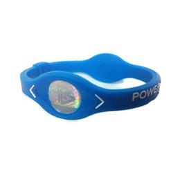 Braccialetto di energia dell'equilibrio del silicone di potere online-Braccialetto Power Energy Braccialetti Sport Balance Ion Magnetic Therapy Silicone 10.4