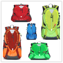 lovers pack 2018 - 36-55L Fashion men and women outdoor lovers mountaineering bag large capacity outdoor sports double shoulder pack 10pcs For DHL