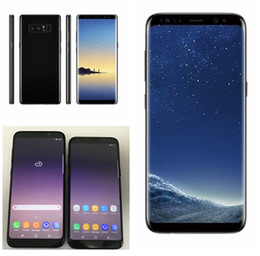 Wholesale Cheap Chinese Tvs - Goophone S8 S8 plus note 8 clone phone MTK6592 Octa core cheap cellphones 4G RAM 64G ROM Fingerprint shown 4G LTE android smartphone