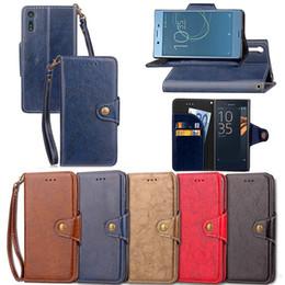 флип оппо Скидка Для Sony Xperia XZ XZ1 X1 XZ2 компактный Oneplus 3 OPPO R15 мечта зеркало стандартный ретро масло бумажник кожаный чехол стенд откидная крышка телефона 50 шт.