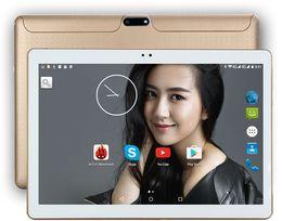 2019 tableta dual core a23 2018 Nuevo 10 pulgadas Tablet PC Octa Core 4G RAM 64GB ROM Tarjetas SIM duales Android 7.0 GPS 3G Tablet PC 10 10.1 k107 + Regalos