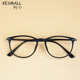 fotogrammi ultem Sconti KESMALL 2018 TR90 Unisex Modello Moda Retro Optical Spectacle Ultem Occhiali Da Vista Telaio Vintage Eye Glasses Frames Uomini BY063