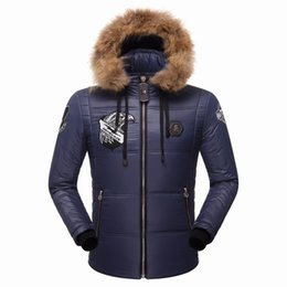 Wholesale Pads For Men - New arrive Brand Men's Winter Jackets and Coats Fashion Hooded Men Jacket Causal Warm Coats for Male Thick Overcoats Cotton Padded