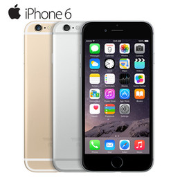 Wholesale Unlocked Phones Iphone - Unlocked Apple iPhone 6 1GB RAM 4.7inch IOS Dual Core 1.4GHz phone 8.0 MP Camera 3G WCDMA 4G LTE Used 16 64 128 ROM Refurbished Cell Phones