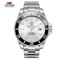269ec2b1f3de 2018 Treaure Mens Dress Relojes de lujo TEVISE hombres de negocios mecánico  automático de acero inoxidable Calendario Reloj Militar rebajas relojes  tevise