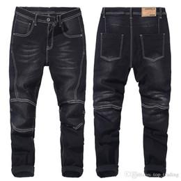 Autunno inverno mens jeans di grandi dimensioni maschile ingrassare aumento  denim blu nero jeans larghi grasso giovane grande tipo pantaloni plus size  28-48 ... 43e19c4ab2cc