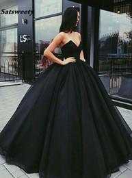 desgaste do partido do desenhador vestidos curtos pretos Desconto Elegante Querida vestidos de formatação Longo Formal Vestido de Noite Tull vestido formatura Vestido de Baile Vestidos de Baile 2019