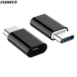 Tipo-c Adaptador Otg Micro Usb a tipo C Conectores de cargador para Samsung Galaxy S8 S9 Plus Nota 8 9 Leeco Typec a cable Usb-c Usbc desde fabricantes