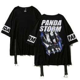 Argentina algodón de cuello redondo de impresión de manga corta suelta de cinco partes de la manga de los hombres de las mujeres del equipo traje de la calle street dance t - shirt casual coat Suministro