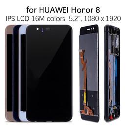 2019 telefones jiayu Para huawei honor 8 display lcd + touch screen substituição digitador assembléia para huawei honor 8 display lcd honor8 frd-l09