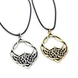 Canada dongsheng Viking Collier Celtic Knot Necklace Irlandais Antique Silver Pendant Celtic Knot Bijoux -30 supplier antique celtic jewelry Offre