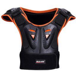 Argentina SULAITE Body Chest Spine Protector Armor Chaleco Equipo de protección para patinaje Niños Roller Extreme Sports Equipo de protección cheap gear vest Suministro