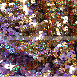 Wholesale dress fabric textile - Embroidered Textiles for Dresses 5yds. lot with Sequins 3D Lace Fabric CHEAPEST Colorful CAF458 Waterproof Fabric 135cm Width