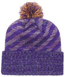2019 Autumn Winter hat men women Sports Hats Custom Knitted Cap Sideline  Cold Weather Knit hat Soft Warm Vikings Beanie Skull Cap 09482076a262