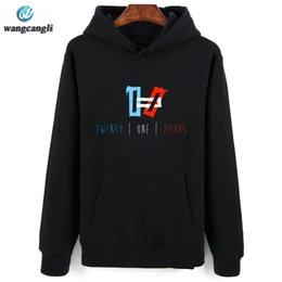 7a4ae5a3743 2017 новый бренд 21 пилоты балахон уличная хип-хоп красный черный серый  капюшоном толстовка мужская толстовки и кофты размер XXS-4XL