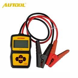 Wholesale digital battery tester auto - AUTOOL BT360 Auto Battery Tester 12 V Automotive digital Analyzer Support Multi-language