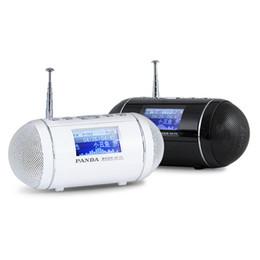 2019 alto-falantes de rádio ds Panda DS-170 U disco / cartão TF MP3 player cartão falante temporizador interruptor letras de músicas sincronizadas Rádio alto-falantes de rádio ds barato