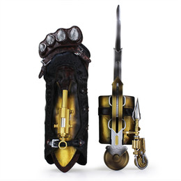 Wholesale Action Figure Weapons - assassins creed Assassins Creed Syndicate Gauntlet with Hidden Blade Avec Lame Secrete Weapons Action Figures PVC brinquedos Collection toys