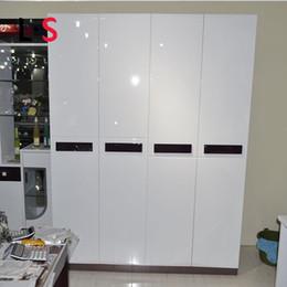 Tapeten Küche Schrank Möbel Rabatt Glossy DIY Dekorative Film PVC  Selbstklebende Möbel Renovierung Wandaufkleber Küchenschrank Wasserdichte