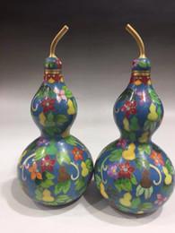 Cloisonne antiques онлайн-Китайский античный Cloisonne покрасил подъем пара