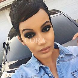 Новое индийское укладка для волос онлайн-Женщины новый стиль человеческих волос парики бразильский малайзийский Индийский волос полный кружева wiglace фронт парик бесплатная доставка