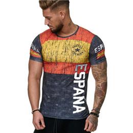 2019 camisas de moda t de futebol 2018 Moda World Cup Soccer Team Camisetas de manga curta de futebol Jersey Casual homens T camisas Top Tees Plus Size M-4XL DH107 desconto camisas de moda t de futebol