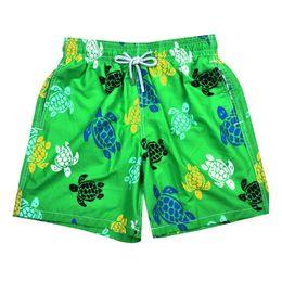 Wholesale turtle animals - High Quality 2016 Brand Designers Beach Shorts For Men Boy Underwear Multicolor Sea Turtle Printed Vilebre Men's Board shorts