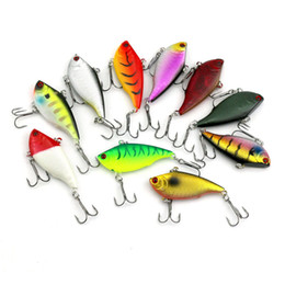 fishing lures 6cm Coupons - INFOF 10pcs 6CM 10.6G Game VIBE baits VIB fishing lures hard bait fish ice sea fishing tackle swivel jig wobbler lure