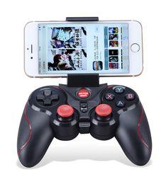 Controller di gioco ios online-2018 S5 Wireless Bluetooth Gamepad Controller di gioco per Iphone IOS per Android e per tablet IOS 2.3 Cellulare smartphone