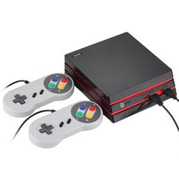 Jeux classiques Console de jeux familiale RS-34 HD Console de jeux vidéo Console de jeux double filaire HD AV Double sortie Support Carte SD ? partir de fabricateur