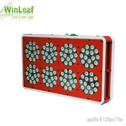 Wholesale Apollo Grow - Apollo 8 Led Grow Lights Lamp for Plants 360W Full Spectrum Indoor Greenhouse Tent Hydroponic Medical LED Grow Light for plant