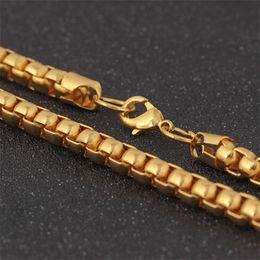 цвет заполнения бисер Скидка 7 мм Диаметр хип-хоп цепи для мужчин женщин ювелирные изделия тяжелый желтый золотой цвет заполнены толстый шарик длинное ожерелье день рождения Рождественский подарок