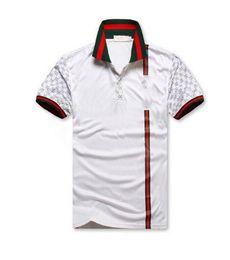 Wholesale luxury t shirt for men - Hot sale New Men's G***I short sleeves polo shirt 8958 T-shirt Embroidery Polo Shirt For Men luxury Polo Men Cotton Short Sleeve shirt