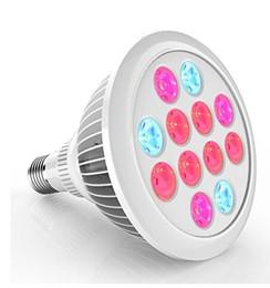 2019 12w ha portato a crescere la lampadina 12W LED Grow Light Bulb, E27 Growing Plant Lamp per piante acquatiche idroponiche ad effetto serra 12w ha portato a crescere la lampadina economici