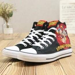 Wholesale ups tuning - Brand New Looney Tunes Running Shoes Tyler The Creator One Star x Golf Le Fleur TTC Solar Yellow Sneaker Trainers Shoes Casual Shoes