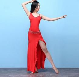 14b6222642b 2019 porter une robe rouge hiver Saidy Femmes Une Pièce Longue Robe Pour  Danse orientale Danse