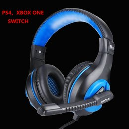 Wholesale ipad acer - gaming headsets Headphone for ps4 PC XBOX ONE switch IPAD HP DELL XPS Lenovo MacBook thinkpad IPHONE6 ASUS Acer notebook Computer Headphone