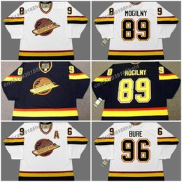 890ca0cb43c 89 alexander mogilny 89 alexander mogilny 96 pavel bure vancouver canucks  1996 ccm vintage home hockey jersey