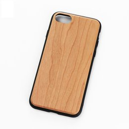 Wholesale I Phones Cases - High grade solid wood layer cases for iPhone 6plus 7plus 8plus, luxury hybrid back covers for i Phone 6 6s 7 8 plus