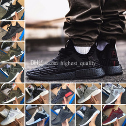 Wholesale Cheap Running Shoes Women - Cheap NMD XR1 Primekin Runner Sneakers Boost sneakers Women Mens Sports Breathable Mesh Running Shoes for men Outdoor Sports Designer Shoes