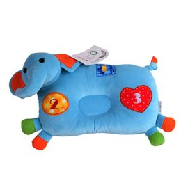 Animal Series Baby Protective Pillow Birthday Gift for Kids Cushion stuffed Safety Pillow Elephant Head Support for Newborns Deals