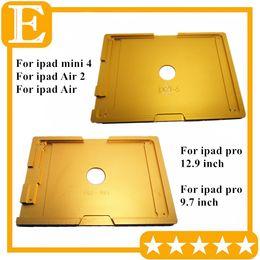 Molde de aluminio del metal para iPad 5 6 Air 2 Pro 9.7 12.9 mini 4 pantalla táctil del molde del LCD Reparación precisa del soporte desde fabricantes