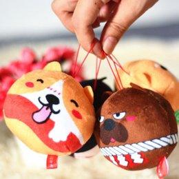 Giocattoli di peluche Animale Shiba Inu Akita Shar Pei Husky Doll Toy Dog Peluche Simpatico ciondolo regalo Cosplay Bambola cucciolo di cartone animato da borsa di souvenir fornitori